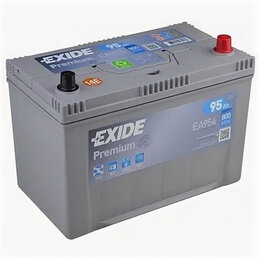 Аккумуляторы и комплектующие - Аккумулятор автомобильный Exide EA954 95Ач 800А Обратная полярность, 0