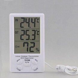 Термометры - Термометр-гигрометр с выносным датчиком TA298, 0