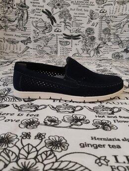 Туфли и мокасины - Детские мокасины для мальчиков КАПИТОШКА, цвет:…, 0