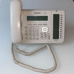 Системные телефоны - IP телефон Panasonic KX-NT553RU белый. Б/у в наличии., 0