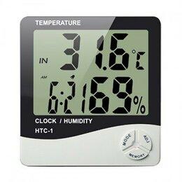 Метеостанции, термометры, барометры - HTC-1 (термометр/гигрометр/часы), 0