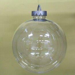 Новогодний декор и аксессуары - Шар подвесной прозрачный 250 мм, 0