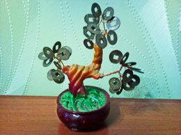 Статуэтки и фигурки - Денежное дерево с монетами., 0