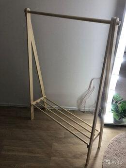 Вешалки напольные - Вешалка напольная деревянная, 0