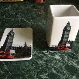 Мыльницы, стаканы и дозаторы - Мыльница и стакан ''Лондон'', 0