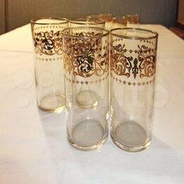 Бокалы и стаканы - Sasaki изделия из стекла. Япония. Набор 8 шт, 0
