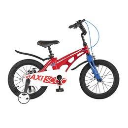 Велосипеды - Велосипед MAXISCOO Cosmic, Стандарт 16'' – Красный, 0