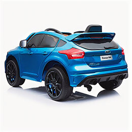 Транспорт на запчасти - RiverToys Автомобиль Ford Focus RS DK-F777 синий, 0