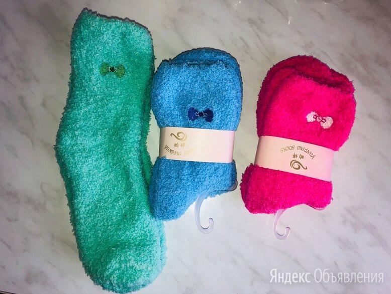 Махровые носочки Новые по цене 200₽ - Колготки и носки, фото 0