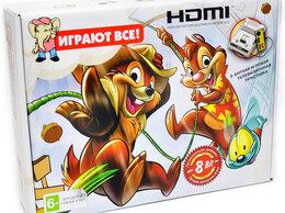 Ретро-консоли и электронные игры - Dendy Chip & Dale HDMI + подарок картридж 42 игры, 0