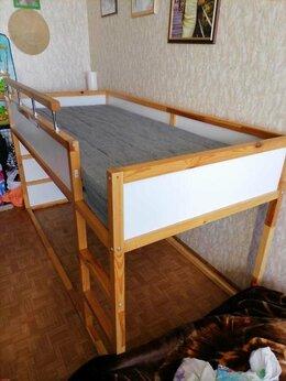 Кровати - детская кровать  KURA (IKEA)+матрас, 0