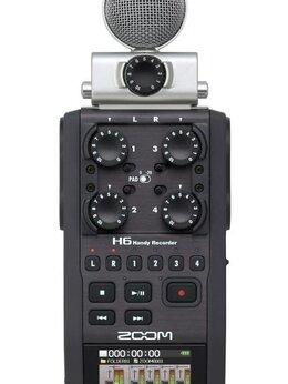 Микрофоны - ZOOM H6 цифровой стереорекордор USB, 0
