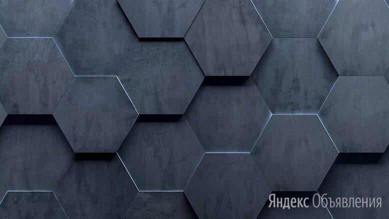 Фартук для кухни с фотопечатью Albico 3 D ГЕКСАГОНЫ по цене 5200₽ - Комплектующие, фото 0