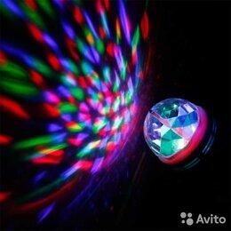 """Интерьерная подсветка - Вращающаяся лампа / диско лампа для вечеринок """"led, 0"""