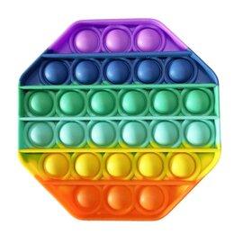 Игрушки-антистресс - Антистресс Pop It пузырь восьмиугольник, 0