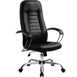 Компьютерные кресла - Офисное компьютерное кресло BK-2 натуральная кожа, 0