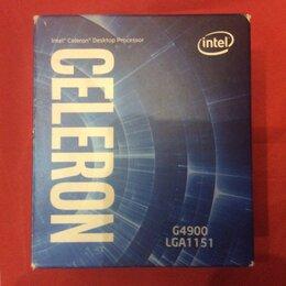 Кулеры и системы охлаждения - Кулер для процессора Intel Celeron G4900 BOX, 0