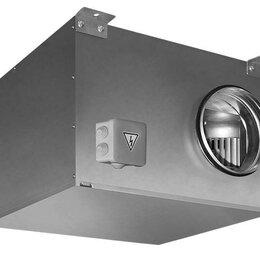 Промышленное климатическое оборудование - Вентилятор канальный круглый в звукоизолированном корпусе Shuft ICFE 250 VIM, 0