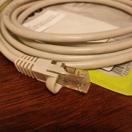 Компьютерные кабели, разъемы, переходники - Патч-корд UTP 5E RJ45 MALE 2 метра, 0