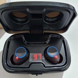 Наушники и Bluetooth-гарнитуры - Беспроводные блютуз наушники TWS-X10. , 0