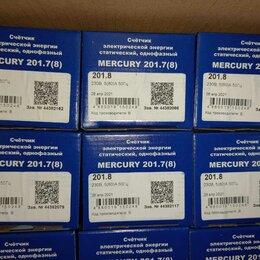 Счётчики электроэнергии - меркурий 201.8, 0