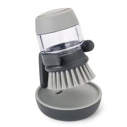 Тряпки, щетки, губки - Щетка серая с дозатором для моющего средства…, 0