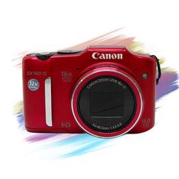 Фотоаппараты - Фотоаппарат Canon PowerShot SX160 IS, 0