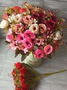 Искусственные растения - Искусственные цветы, розы с хризантемами, 0
