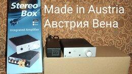 Усилители и ресиверы - Усилитель Pro-ject stereoboxS+блютуз + медиаплеер, 0