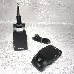 Аксессуары и комплектующие для гитар - Беспроводной передатчик и приёмник для гитары, 0