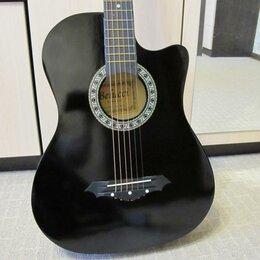 Акустические и классические гитары - Гитара чёрная, 0