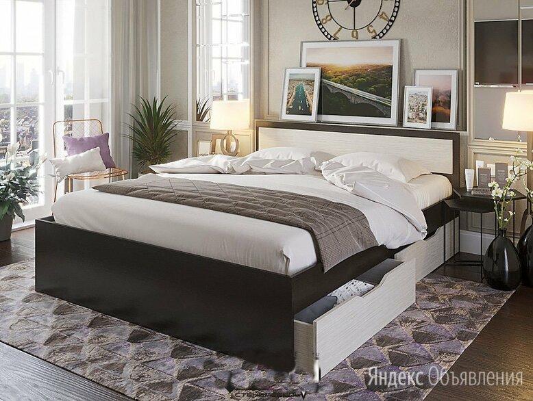 Кровать Гармония 604 с ящиком (1.6) по цене 8800₽ - Кровати, фото 0