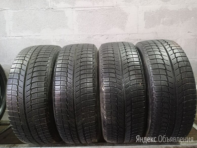 225 55 17 Michelin БУ Шины Зимние 225 55 R17 99V по цене 5750₽ - Шины, диски и комплектующие, фото 0