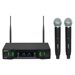 Микрофоны - U-2 сдвоенная вокальная радиосистема, 0