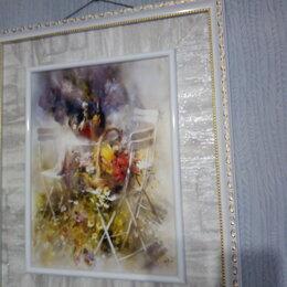 Картины, постеры, гобелены, панно - Картина акварель, 0