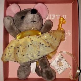 "Мягкие игрушки - Мягкая игрушка ""Мышка с аксессуарами"", 0"