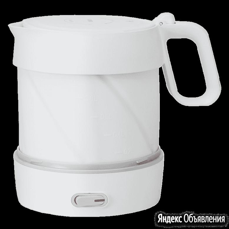 Складной чайник Xiaomi HL Folding Electric Kettle (1л.) YSHDSH01 по цене 1590₽ - Электрочайники и термопоты, фото 0
