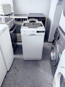 Посудомоечные машины - (45 см) Bosch посудомоечная машина с гарантией, 0