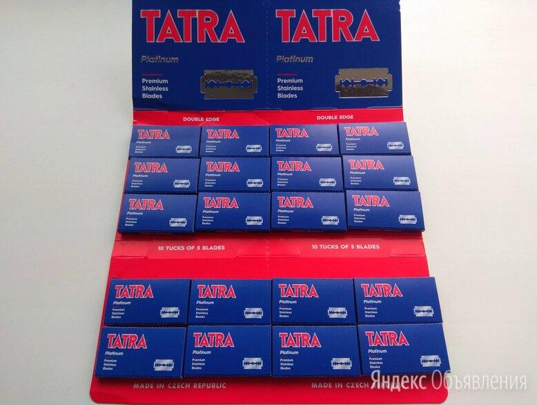 Бритвенные лезвия Tatra Platinum Чехия по цене 90₽ - Бритвы и лезвия, фото 0