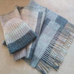 Шарфы и платки - Комплект (шарф и шапка) ручной работы…, 0