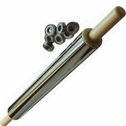Скалки - Скалка из нержавейки 50-6см с подшипниками, 0