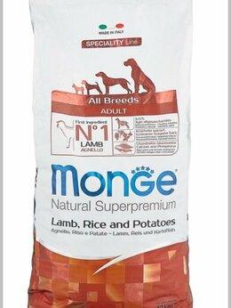 Корма  - Monge для взрослых собак с ягненком 12 кг., 0