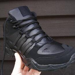 Кроссовки и кеды - Мужские Зимние Кроссовки на меху от Adidas, 0