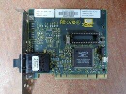 Сетевые карты и адаптеры - Оптическая сетевая карта 3Com 3C905B-FX SC PCI, 0