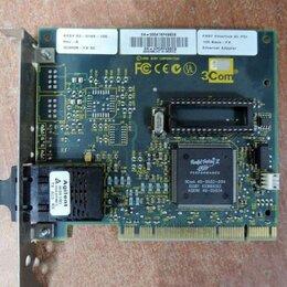 Прочие комплектующие - Оптическая сетевая карта 3Com 3C905B-FX SC PCI, 0