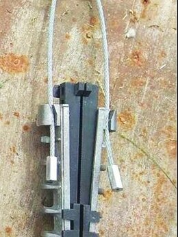 Товары для электромонтажа - Анкерный зажим для монтажа сип, 0