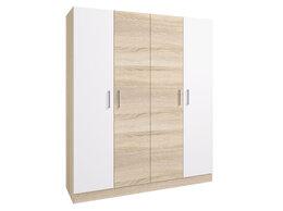 Шкафы, стенки, гарнитуры - Шкаф 4-х дверный Леси без зеркал, 0