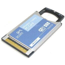 Сетевые карты и адаптеры - PCMCIA Wi-Fi (a/b/g) адаптер 3COM, 108 Мбит/сек, 0
