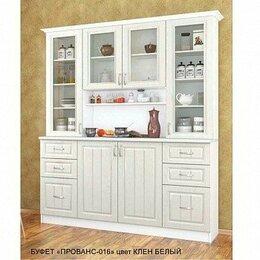Мебель для кухни - Буфет Прованс-016 Клён Белый, 0