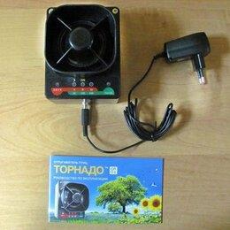 Отпугиватели и ловушки для птиц и грызунов - Отпугиватель птиц ультразвуковой электрический Торнадо ОП-01 для дачи, 0